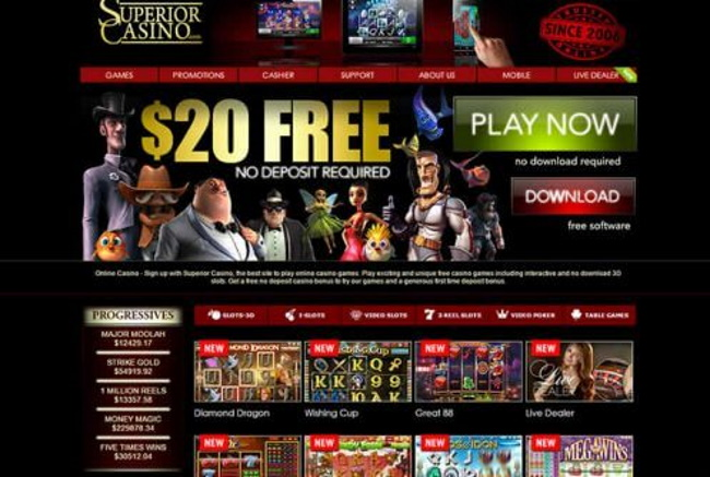 About Superior Casino