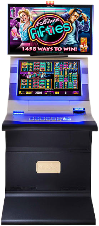 Helix plus cabinet with pokies