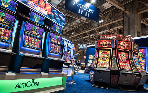 Aristocrat pokies machines