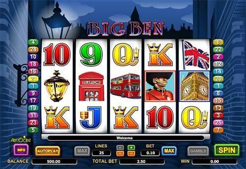Big Ben Games Play