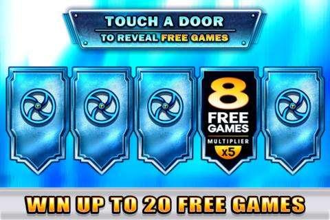 Diamond Destiny Touch Door Screen