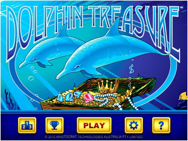 Dolphin Treasure pokies