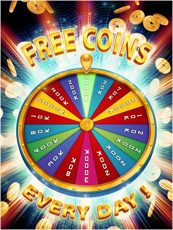 Get free coins in Fa Fa Fa Gold