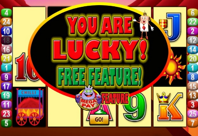 Features and Free spins in More Chilli pokies game