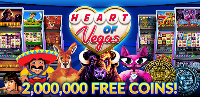Heart of Vegas Casino Jackpot