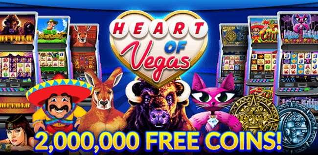 Heart of Vegas Casino Jackpot