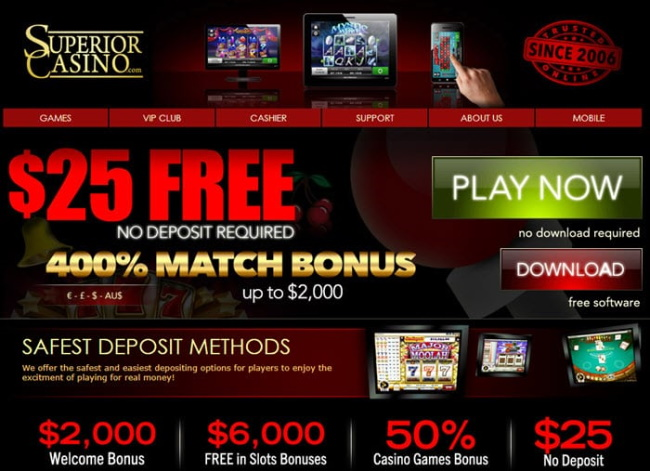 How to Use No Deposit Bonus Codes at Superior Casino