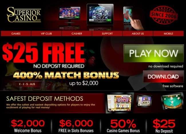 How to Use No Deposit Bonus Codes at Superior Casino