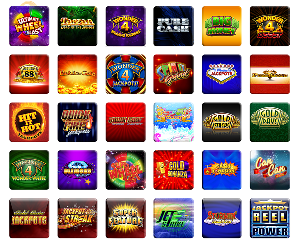 J Series Pokies Machines