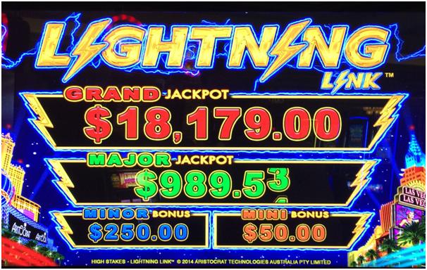 Lightening Link Jackpot Games
