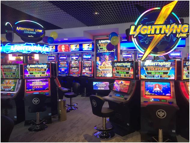 Lightning Link Lounge in France