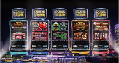 Locked and loaded poker machine