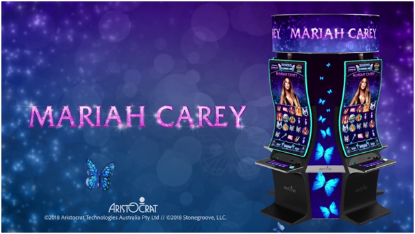 Mariah Carey pokies machine