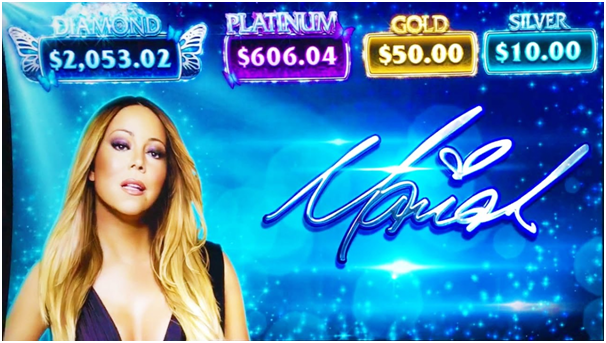 Mariah Carey Pokies from Aristocrat