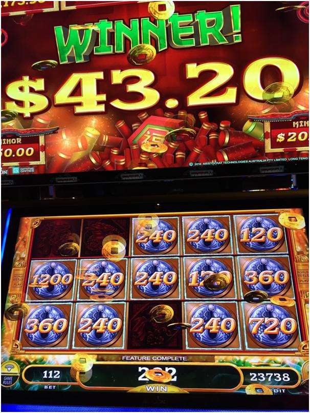Mighty Cash Aristocrat pokies- Long Teng Hu Xiao