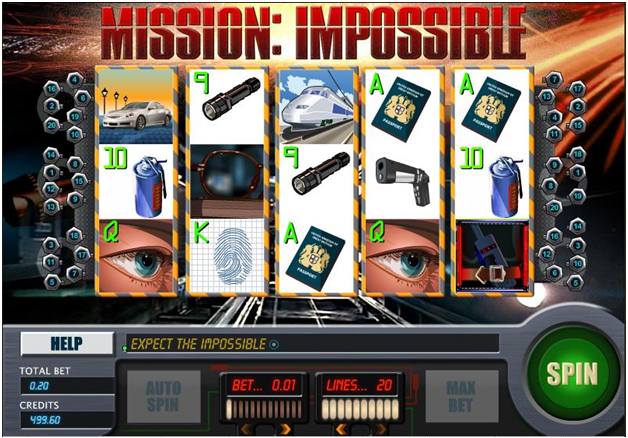 Mission Impossible pokies