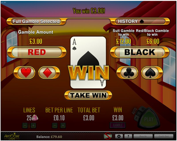 Gamble Feature