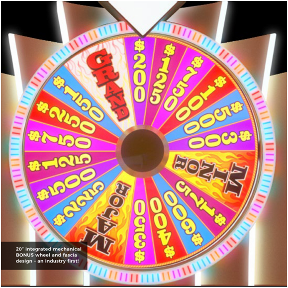 Aristocrat pokies Spinning wheel