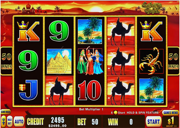 Sahara gold slot