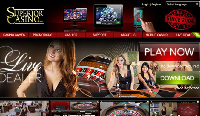 Superior Casino games
