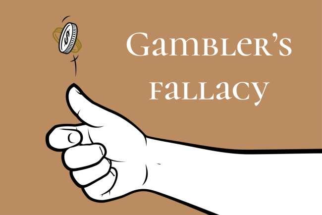 Understand the gambler's fallacy