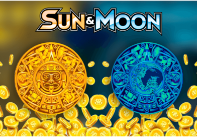 What are the features of Sun and Moon pokies