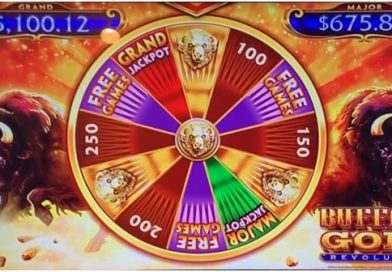 What is the wheel feature in Buffalo Gold Pokies