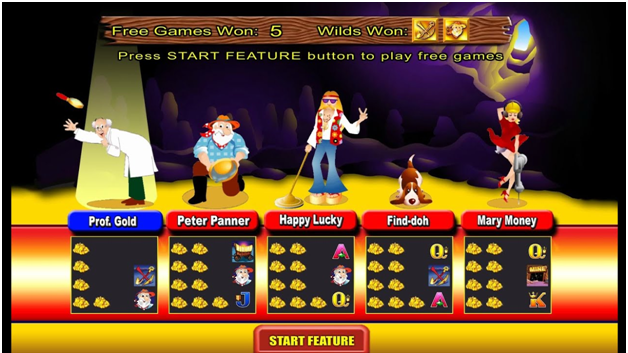 Where's the Gold Aristocrat pokies- Game Features