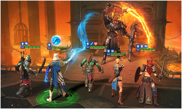 game features in Raid Shadow Legends